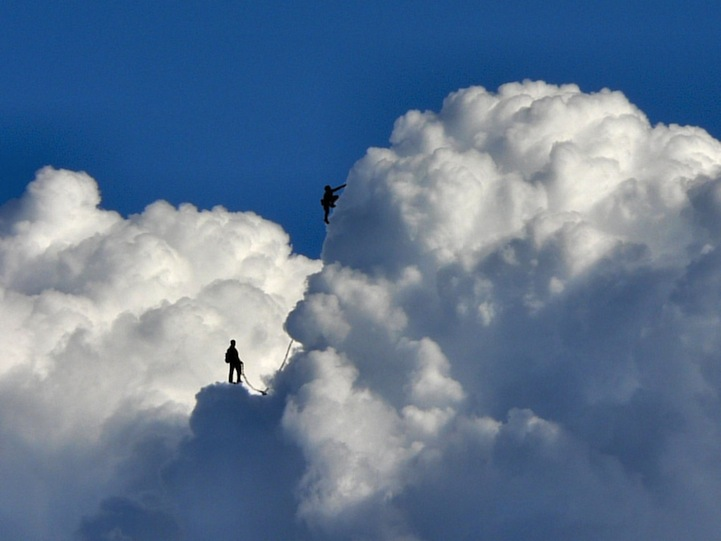 Photographer Re-Imagines Clouds as Magical Landscapes - My Modern Metropolis