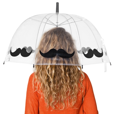 Tiger UK : NEW FOR FEBRUARY : NEW FOR FEBRUARY : MOUSTACHIOED UMBRELLA