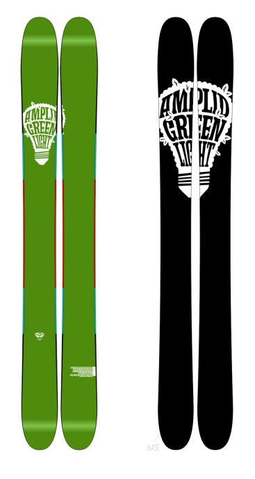 amplid ::: next level riding - greenlight fat ski