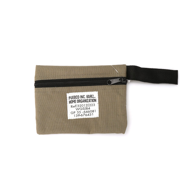 LAMINATED FABRIC POUCH/SHORT | SCULPSTORE