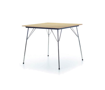 vitra folding tables dtm 2 designed by charles ray eames