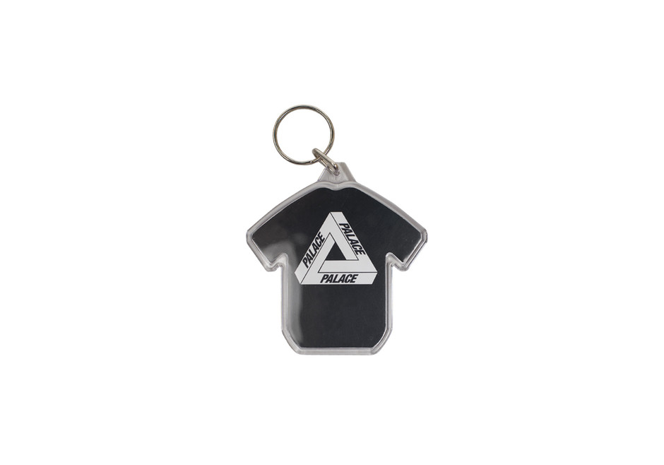 Shirt Keyring Black | Palace Skateboards