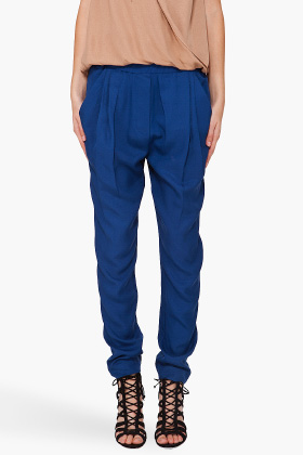 3.1 Phillip Lim Draped Pocket Trousers for women