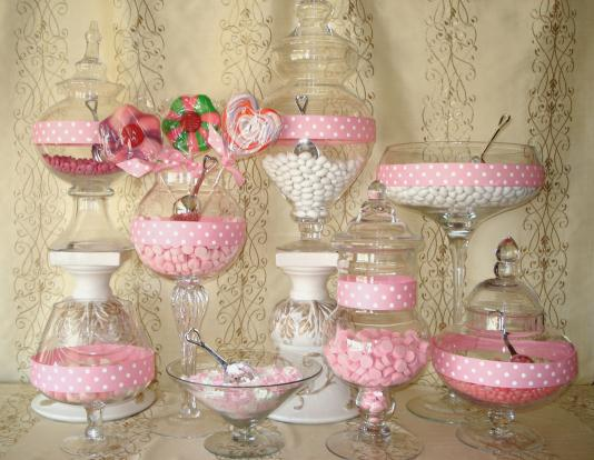 Inspiration ~ Candy Buffets | Celebrate & Decorate