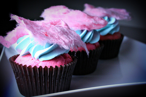 All sizes | Cotton Candy Cupcakes | Flickr - Photo Sharing!
