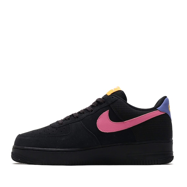 NIKE AIR FORCE 1 '07 LV8 2 BLACK/MAGIC FLAMINGO-PERSIAN VIOLET 20SP-S