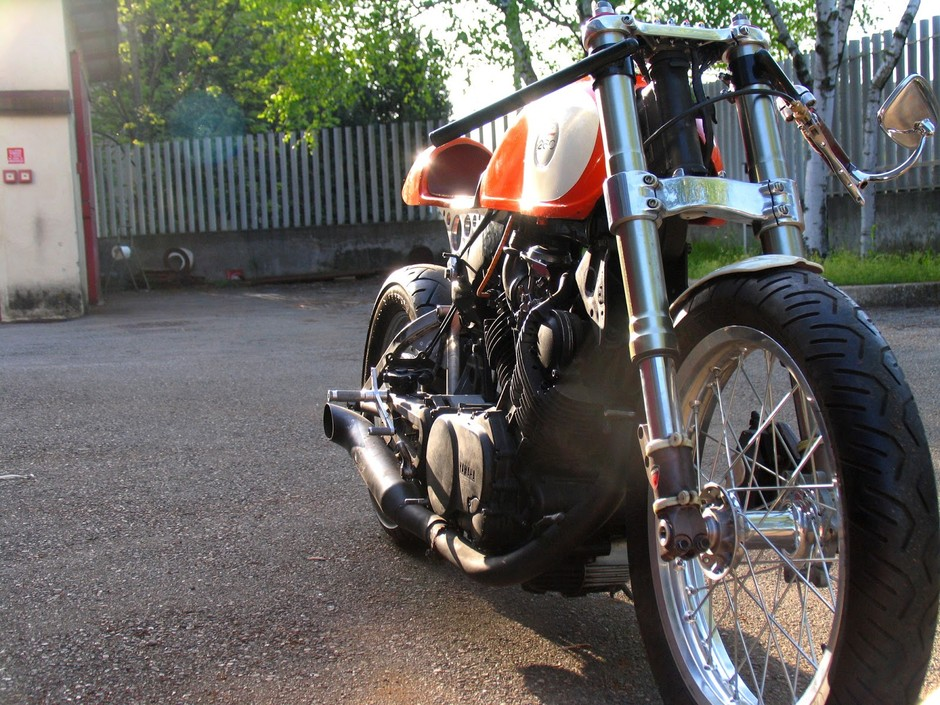 Plan B Motorcycles: The Orange Project