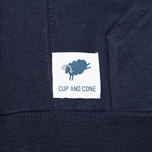 Logo Hoodie - Navy - cup and cone WEB STORE
