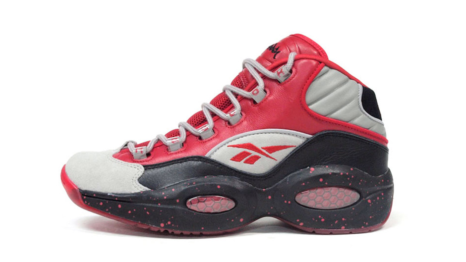 """QUESTION MID """"STASH"""" """"STASH COLLECTION"""" RED/GRY/BLK リーボック Reebok 