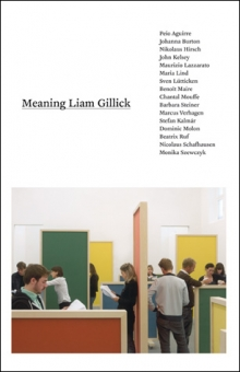 Meaning Liam Gillick | The MIT Press