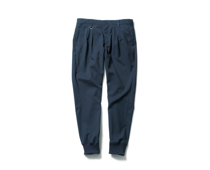 SOPHNET.   PRODUCT   TR STRETCH RIBBED 2 TUCK PANT