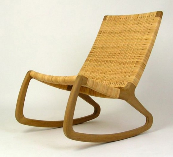 SP210 Rocking Chair Contemporary Rattan Chair Designs by Shawn Place - Sofa & Chairs - nabuzz.com