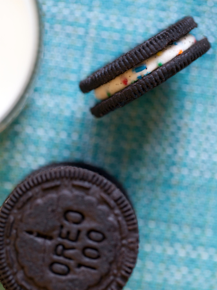Birthday Cake Oreos | Devour The Blog: Cooking Channel's Recipe and Food Blog