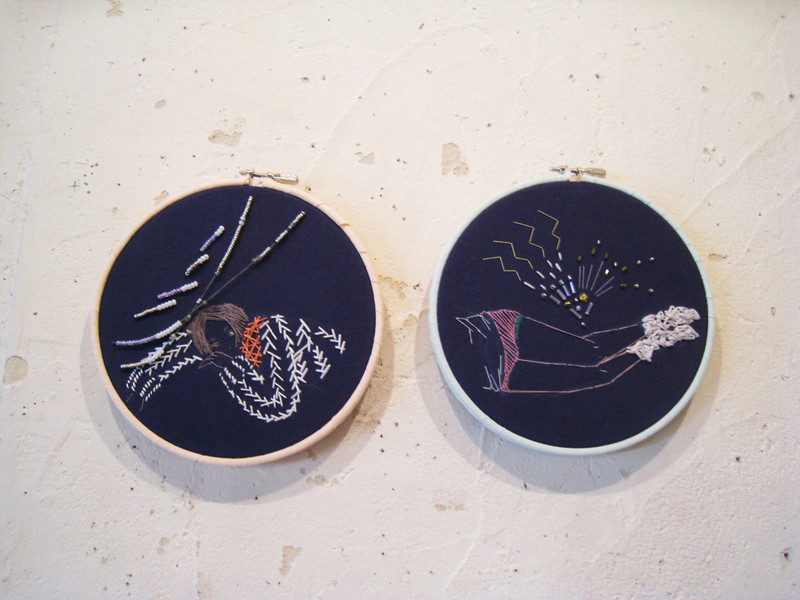 2011 SECRET WINDOWS embroidery works - PATTERIE