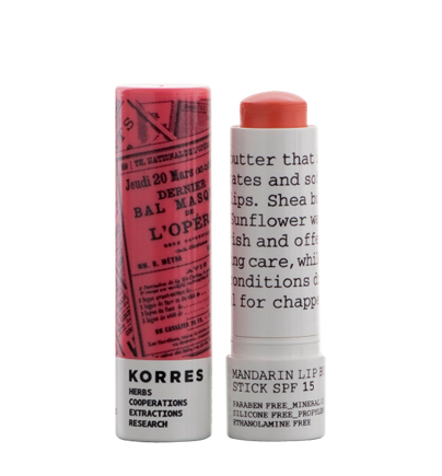 MANDARIN LIP BUTTER STICK | KORRES NATURAL PRODUCTS