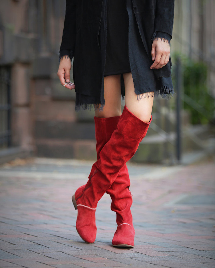 Free People Grandeur Over the Knee Boot – NAWO