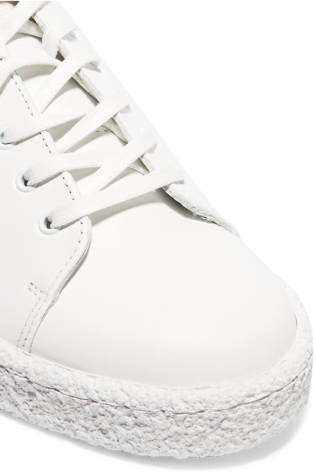 Eytys | Ace perforated leather sneakers | NET-A-PORTER.COM