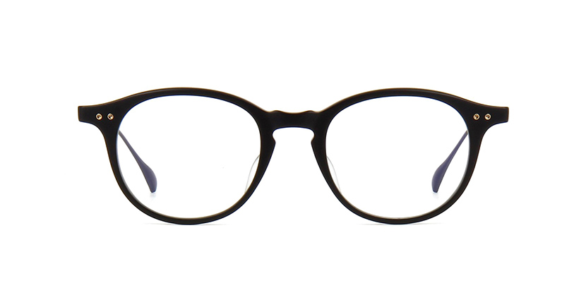 Dita Ash DRX 2073 A Matte Black and Black Iron Glasses | Pretavoir