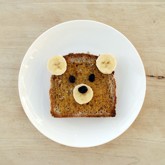 Teddy bear toast | Mini-eco