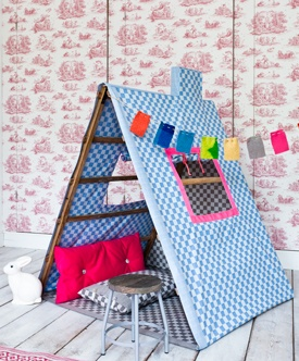 #DIY Little playhouse by @101woonideeën D.I.Y. magazine | Børneværelse