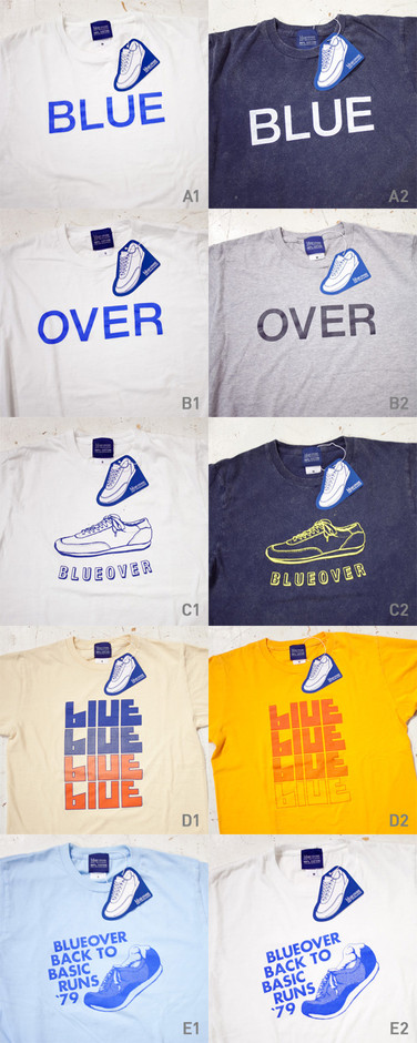 blueover ブルーオーバー 2014・SS Original T-shitr / オリジナル Tシャツ - struct / blueover WONDER BAGGAGE hola Tiny Formed