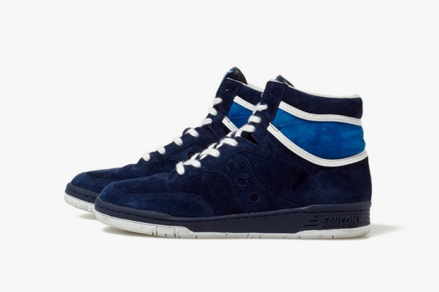White Mountaineering Saucony Fall 2013 Suede Sneakers • Highsnobiety