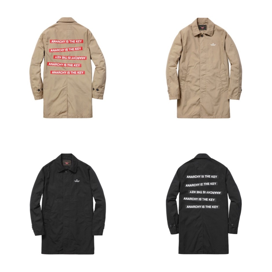 supreme undercover anarchy is the key coat sumally サマリー