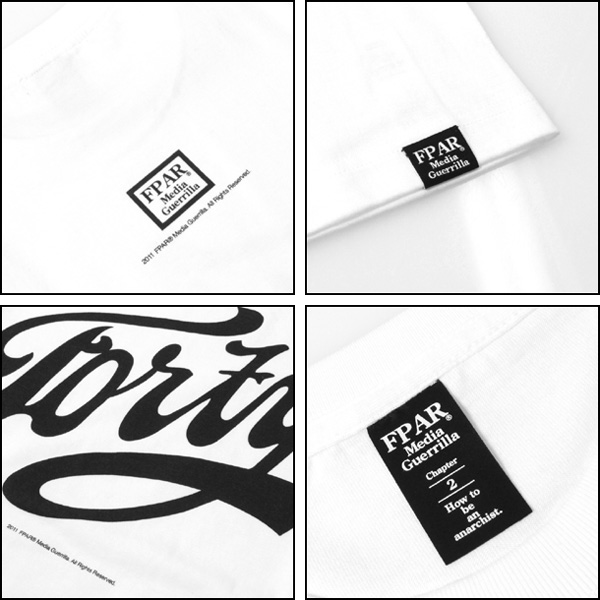 Size【M】FORTY PERCENTS AGAINST RIGHTS(フォーティーパーセント) GIP-STORE限定 11AW FORTYロゴT【白】【新品】 ブランド古着の買取販売STAY246