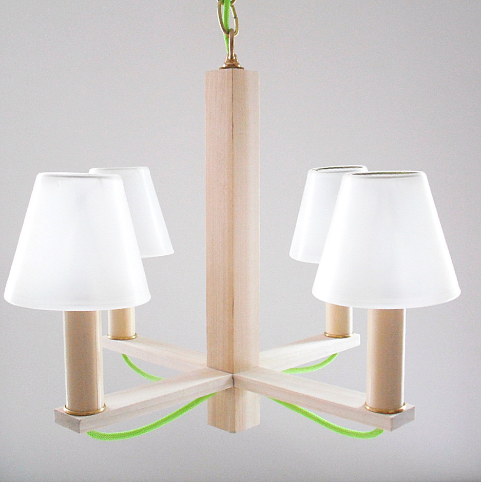The Simple Chandelier by REGOllc on Etsy
