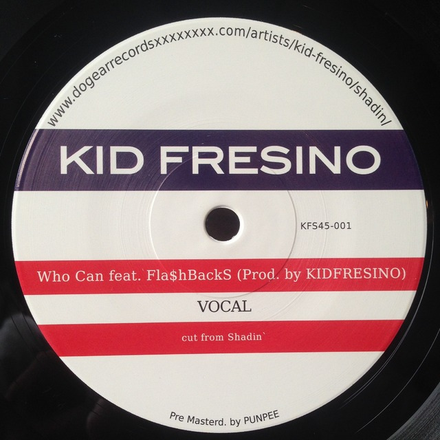 KID FRESINO 『Who Can 7inch』 | DownNorthCamp