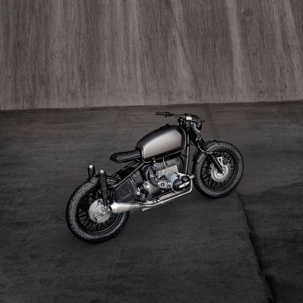 ER Voltron: A BMW R69S for the future | Bike EXIF