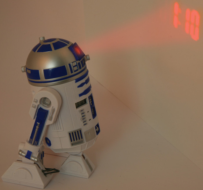 Play.com - Buy Star Wars: R2-D2 Projection Alarm Clock online at Play.com and read reviews. Free delivery to UK and Europe!