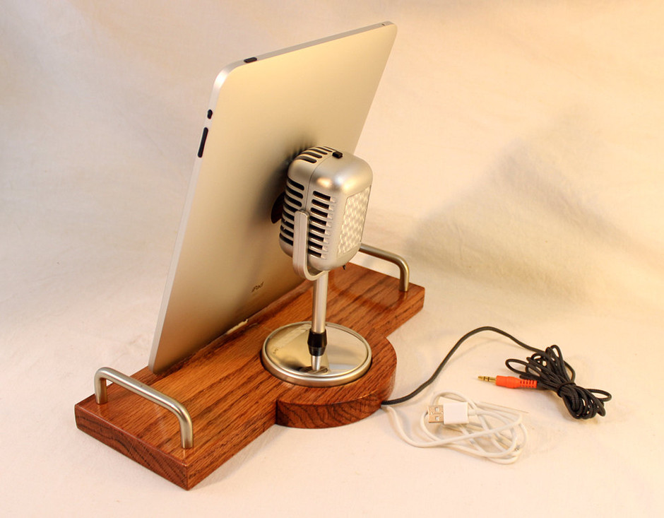 iPad iPhone iPod Dock Sync and Charging Station by woodguy32