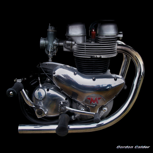 NO 43: CLASSIC MATCHLESS G12 MOTORCYCLE ENGINE | Flickr - Photo Sharing!