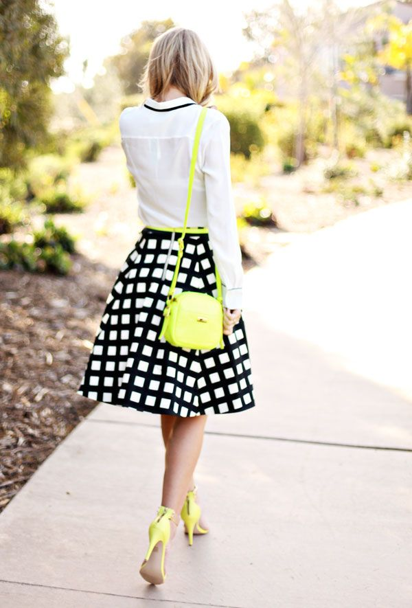 neon accents. | outfit inspiration. | Pinterest