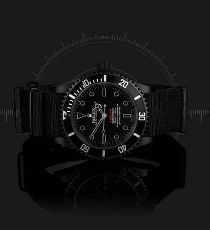 Limited Edition ROLEX STEALTH MK II by PROJECT X DESIGNS