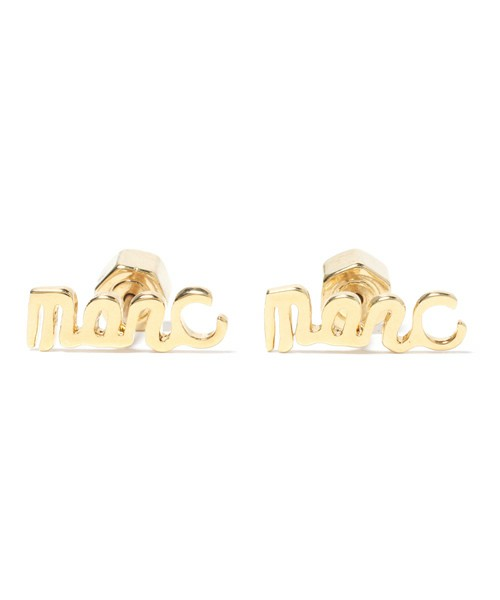 MARC BY MARC JACOBS / MARC SCRIPT STUDS(ピアス) - ZOZOVILLA