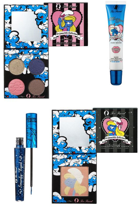 Too Faced Smurf Collection   Bath and Body Collector