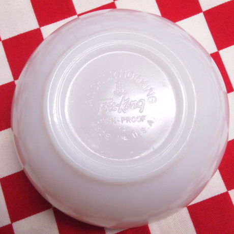Fire King White Chili Bowl (75) | Jadeite Magic Gallery
