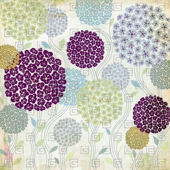 PATTERN + PRINT / Wisteria - French Topiary by Basic Grey