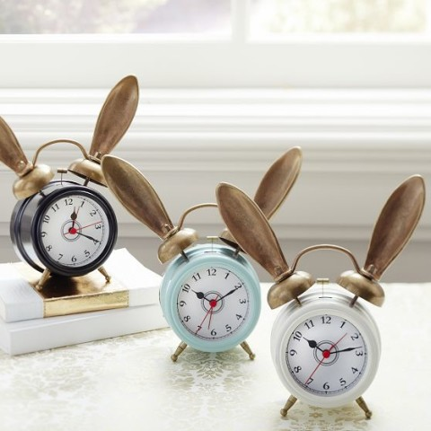 The Emily + Meritt Bunny Alarm Clock | Spotted on @emmaroberts6 | Keep.com