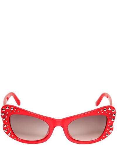 AGENT PROVOCATEUR - ACETATE BUTTERFLY SUNGLASSES - LUISAVIAROMA - LUXURY SHOPPING WORLDWIDE SHIPPING - FLORENCE