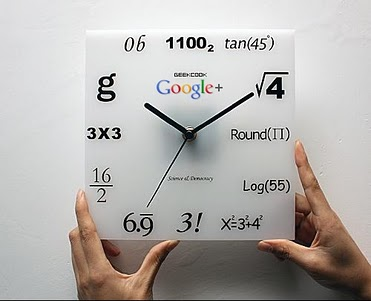 Google+ Geek Clock | Google Plus Mania Blog