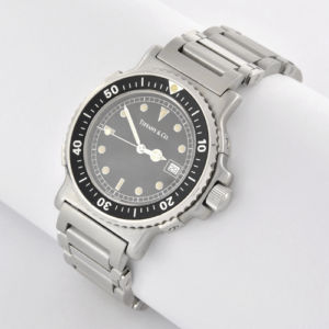 Authentic Pre-owned The Tiffany Diver's Watch For Men | eBay