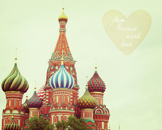Russia With Love Moscow St Basil's Cathedral by happeemonkee