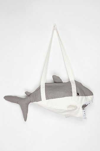 Cooperative Shark Duffle Bag - Urban Outfitters