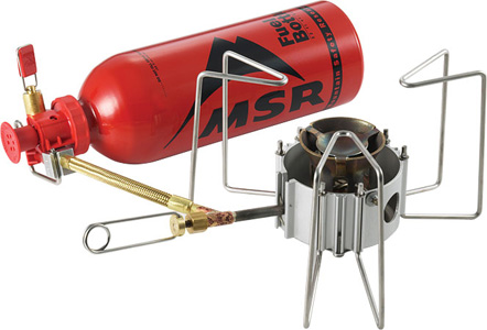 MSR ストーブ グルメクッキング - Gourmet Cooking stoves deliver precision, boil-to-simmer flame control and excellent stability with larger pots.
