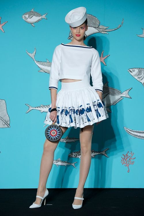 OLYMPIA LE TAN SS14 A GIRL IN EVRY PORT|Bambi&Faline Official Blog