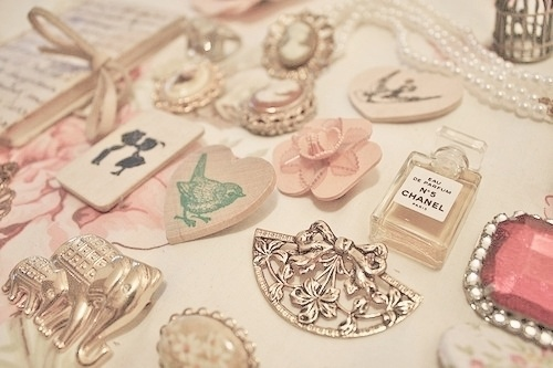 everything nice / Everything cute and sweet and lovely.   We Heart It