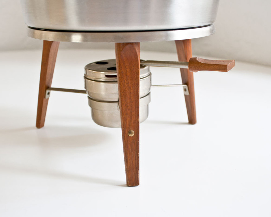 Mid Century Modern Chafing Dish by kibster on Etsy